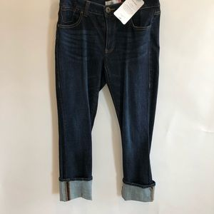 CAbi High Straight Jeans #3386 Size 4 New $109.